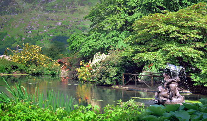 The Botanical Gardens at Benmore in Argyll
